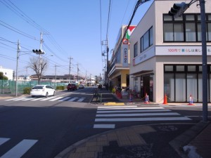 平和台駅からのルート②